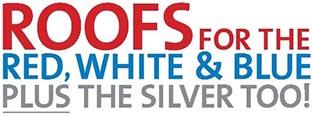 Red White Blue Silver logo