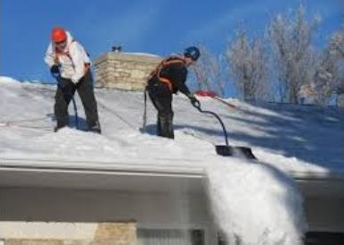 Roof Snow Removal in Northern VA