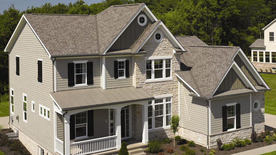 Landmark Solaris PLATINUM Shingles with Cool Roof Technology